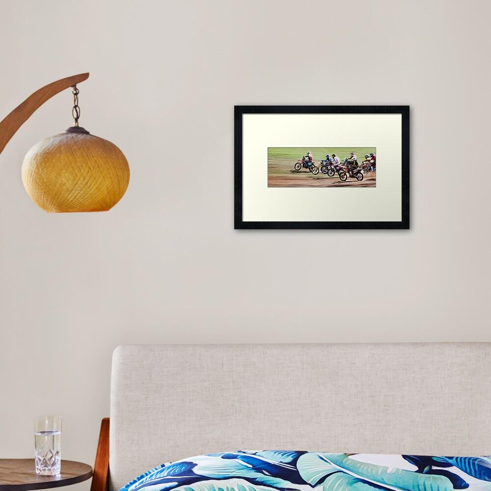 The Off Framed Art Print