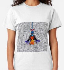 Psychedelic meditiation  Classic T-Shirt