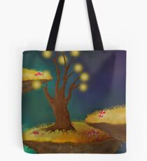 Night Sky - In A Surreal World Tote Bag