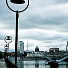 View down the River Liffey by Paul  Sloper
