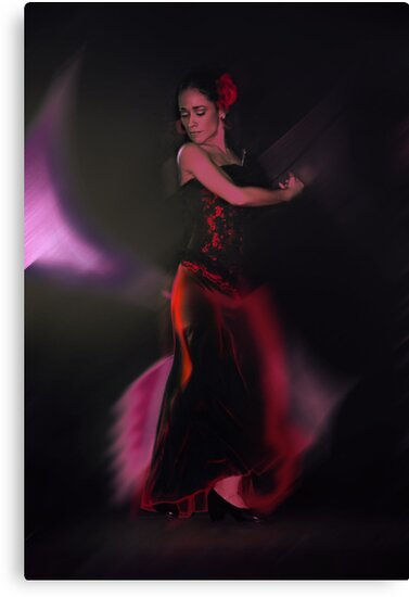 Spanish Dancer by Jeff Burgess