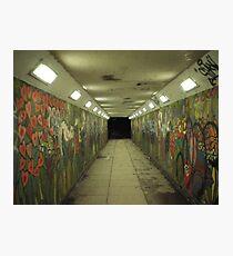 psycho subway Photographic Print