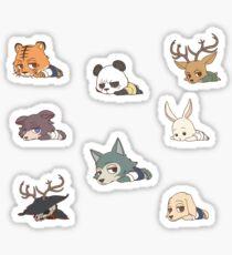 Beastars Mini Full Collection Sticker