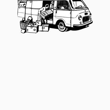 Loading the Fiat Van 1100 T by redwoodkiwi
