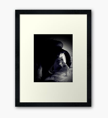Shadows and Mink Framed Print
