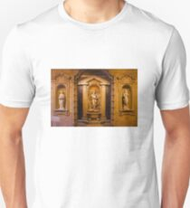Reliefs from the Renaissance period in Milan, ITALY Unisex T-Shirt