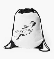 Me & Shadow Drawstring Bag