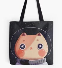 Cat Astro Tote Bag