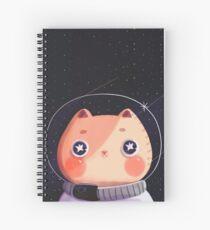 Cat Astro Spiral Notebook