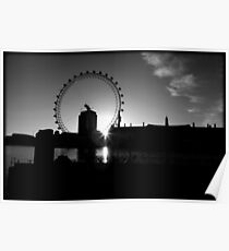 Dawn Over The Thames Poster