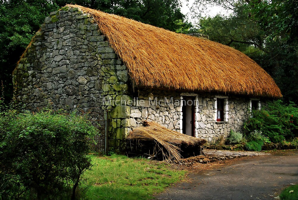 irish cottage.. by Michelle McMahon