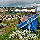 claddagh boats.. by Michelle McMahon