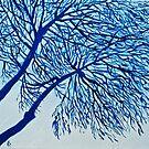 Blue Tree by Aleksandra Kabakova