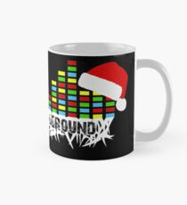 Ear to the Ground Colorful Christmas Classic Mug
