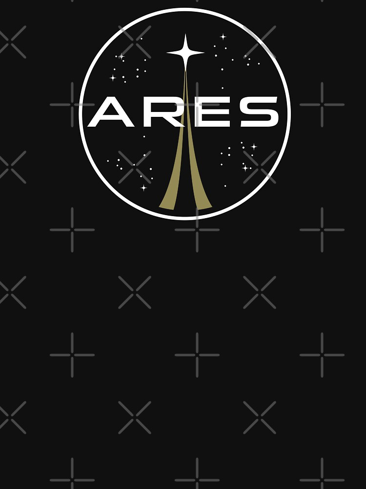 """ares mission to mars logo - the martian"""" t-shirts & hoodies"""