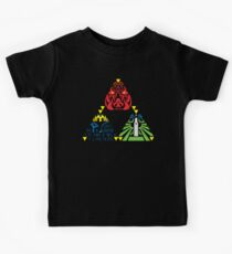 Triforce (without sage emblems) Kids Tee