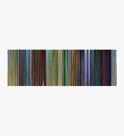 Moviebarcode: A Bug's Life (1998) Photographic Print