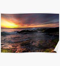 Beavertail Sunset Poster