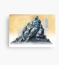 The White King's Rook Canvas Print