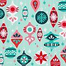 Weihnachtsschmuck - Mint Palette von Cat Coquillette