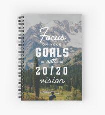 FOCUS ON YOUR GOALS (2020 DESIGN) Spiral Notebook