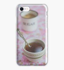 Tea Time in Pink iPhone Case/Skin