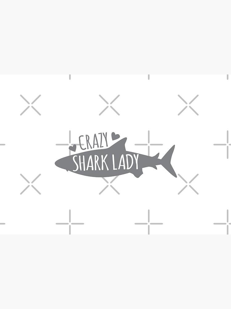CRAZY Shark lady  by jazzydevil