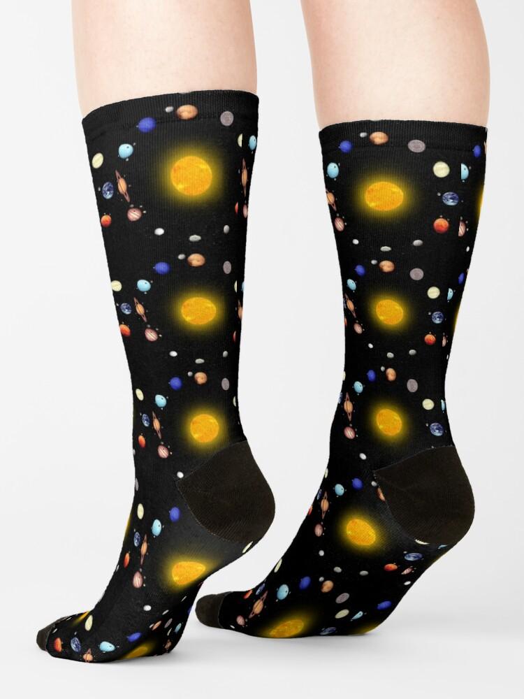 Alternate view of Space Pattern Socks