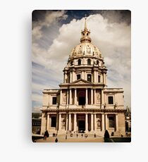 Historical Architecture Canvas Print