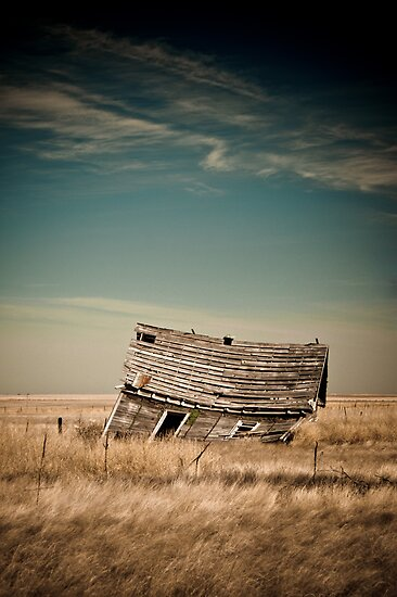 Leaning Towards The Past by John  De Bord Photography