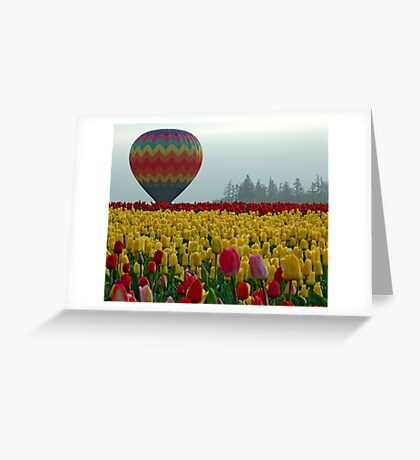 Waiting For Lift Off Greeting Card