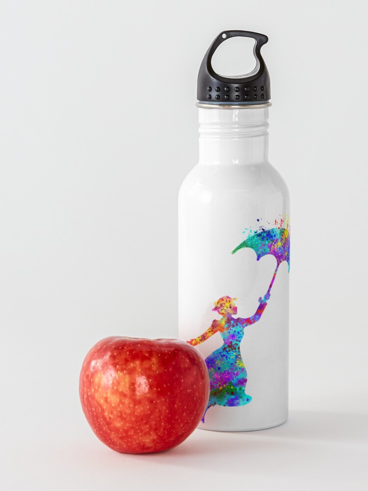 Alternate view of mary poppins  Water Bottle