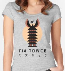 Tin Tower Women's Fitted Scoop T-Shirt