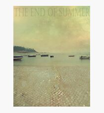 The end of summer Photographic Print
