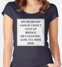 Duplicate Bridge Fitted Scoop T-Shirt
