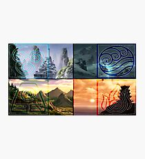 The 4 Nations (Avatar) Photographic Print
