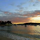 Sunset, Manly, Sydney, NSW, Australia by Of Land & Ocean - Samantha Goode