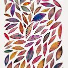 Diamantblätter - Herbstpalette von Cat Coquillette