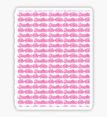 Brazilian Jiu Jitsu Pink  Sticker