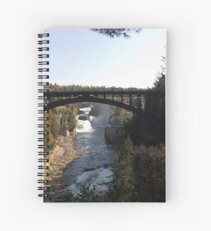 Arch Bridge over Ausable Chasm Spiral Notebook