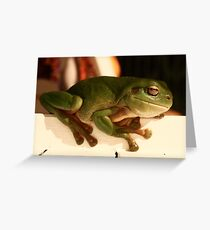 Worlds Biggest Frog Greeting Card