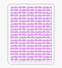 Brazilian Jiu Jitsu Purple  Sticker