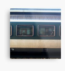 Vevey Station - The Commuters Metal Print