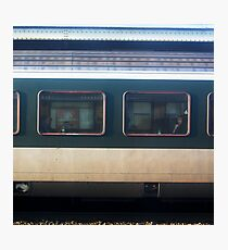 Vevey Station - The Commuters Photographic Print