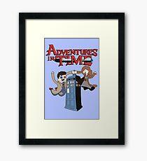 Adventures In Time Framed Print