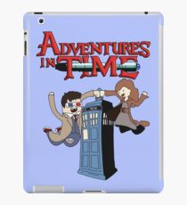 Adventures In Time iPad Case/Skin