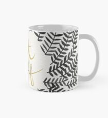 Treat Yo Self – Black & Gold Mug