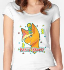 PARTY BRONY - MLP by CCwolfie Women's Fitted Scoop T-Shirt