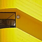 Yellow Stairs  by richard  webb