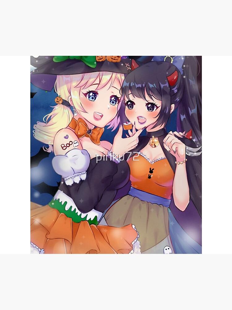 Halloween Girls by pinku72